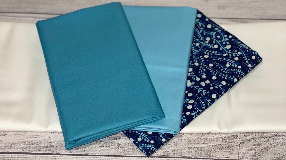 Bold Blocks Bundle-Blue Floral