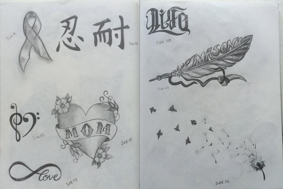 June Theme : Tattoo Designs