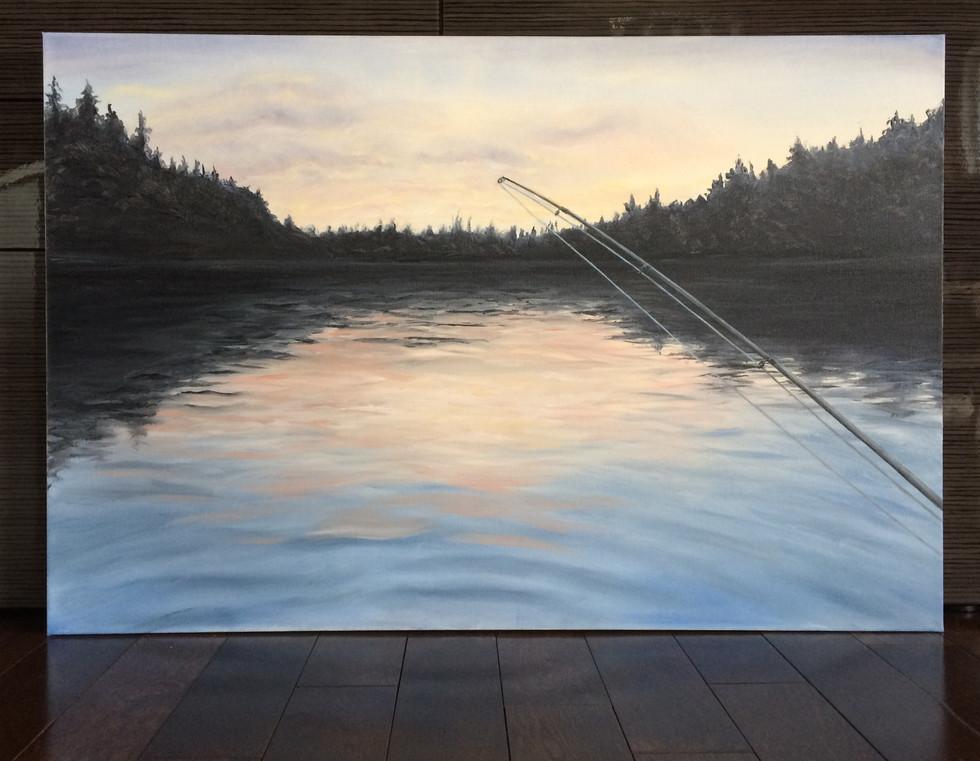 Week 15 - Algonquin at Dusk - Cache Lake