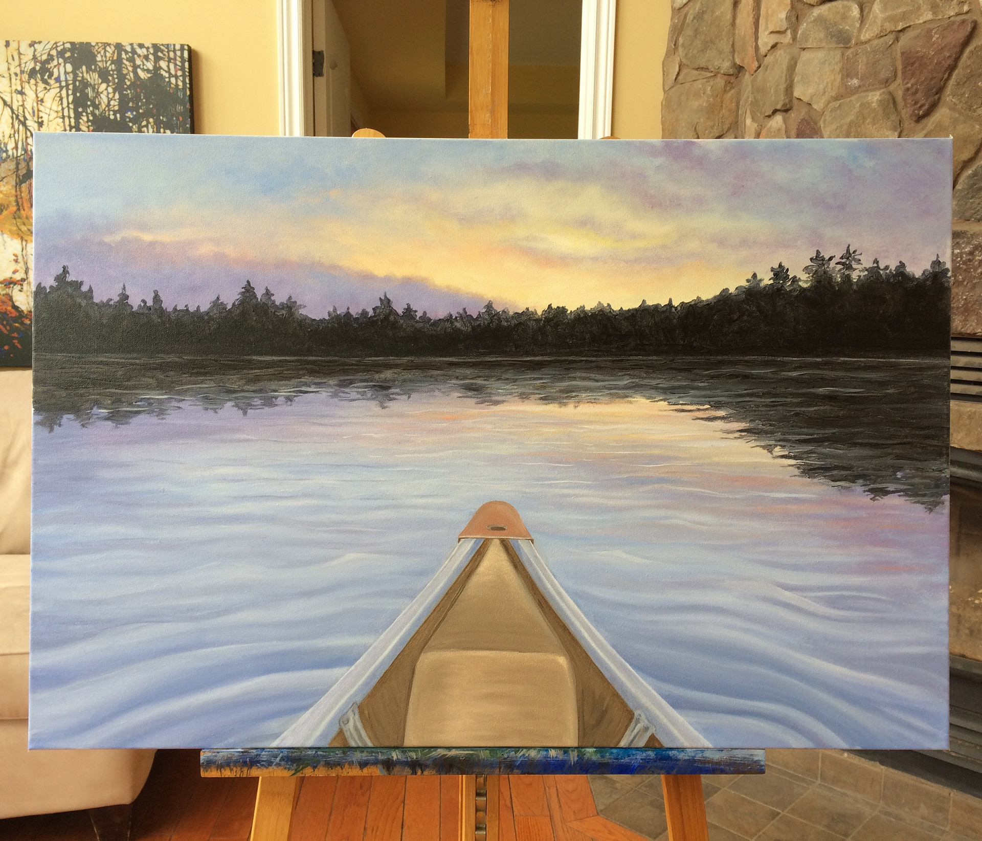 Algonquin Sunsets - Cache Lake part II