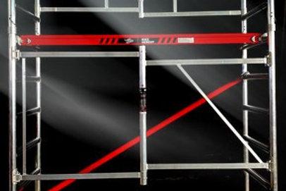 Kiezgerüst - Zimmergerüst Fahrgerüst  Ah.3,85m erweiterbar NEU