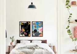 Mockup quadros decorativos: Roaring Twenties e Tempos Modernos