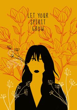 Let Your Spirit Grow Versão Mostarda