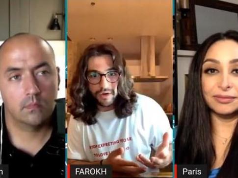 Anybody's Game Ep 05: Interview with Entrepreneur, Advisor & Social Media Expert, Farokh Sarmad