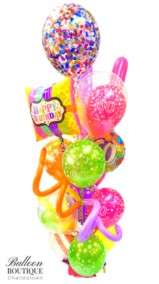 Mega Bouquet with Confetti Feature