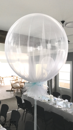 Tulle Bubble Feature