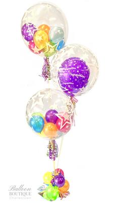 Bubble Trio Bright Bouquet