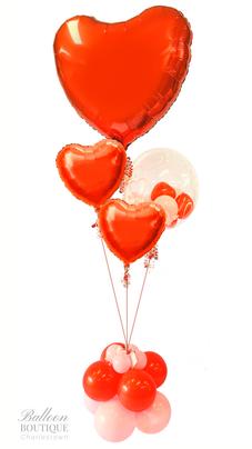 Ultra Heart, 2 Foil Heart + Bubble Feature