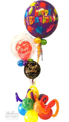 Utlra, Bubble + Foil Bouquet