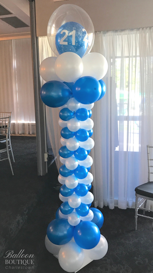 Ionic Column with Bubble topper