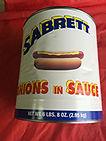 Sabrett Onions #10 Can