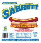NO SKIN 640 55 Skinless Hot Dogs 5 pounds