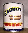 Sabrett Sauerkraut #10 Can