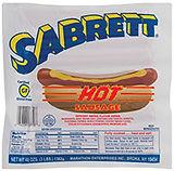 778 25 Hot Sausage 5 pounds
