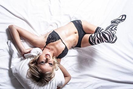 photographe megève, séance boudoir