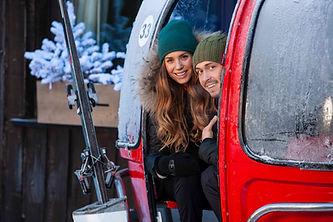 shooting couple Chamonix, Haute-Savoie