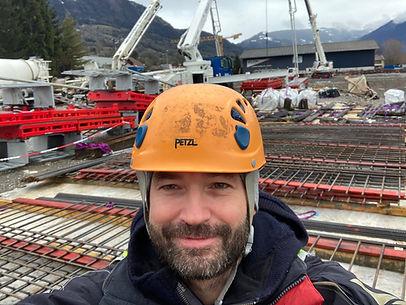 Erlend Haugen, photographe professionnel et télépilote des drones en Haute-Savoie. Suivi de chantier par drone et camera time-lapse.