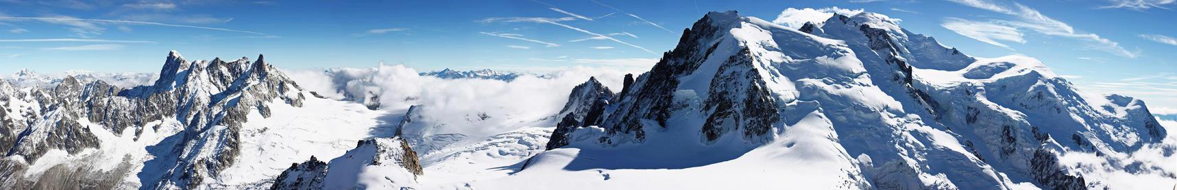 Panorama Mont Blanc