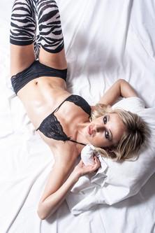Séance lingerie en studio