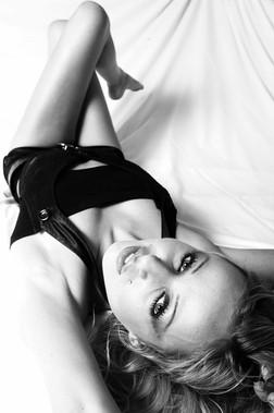 Shooting portrait style boudoir