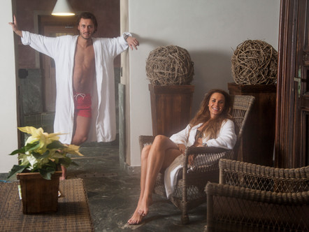 Séance boudoir couple