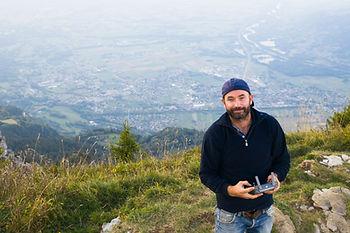 Photographe et pilote de drone Erlend Haugen