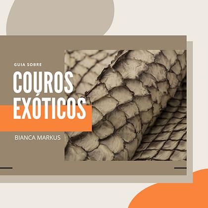 LIVRO DIGITAL GUIA SOBRE COUROS EXÓTICOS