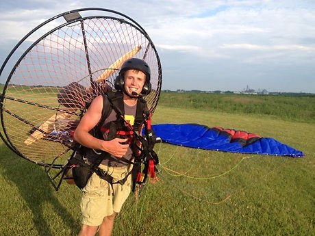 paramotor training to get you flying