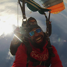 Tandem Skydiving for your party