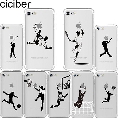 Baseball  Soft TPU Phone Cases for iPhone