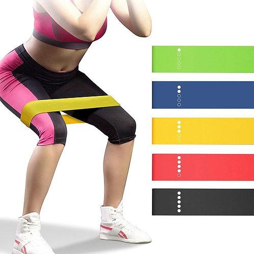 Yoga Resistance Bands 5 Colors Resistance Loop Stretching