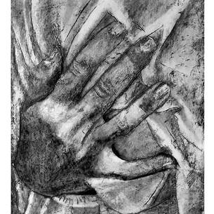 haltende Hand