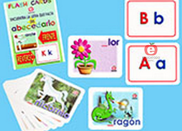 FLASH CARDS ABECEDARIO
