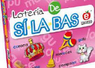 LOTERÍA DE SILABAS
