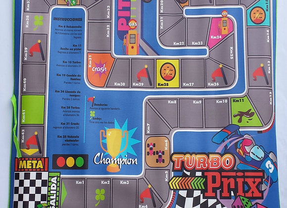 Tapete Turbo Prix