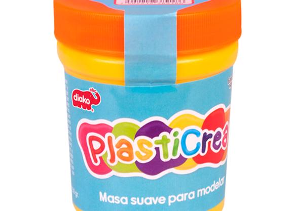 PLASTICREA F NARANJA 150GR