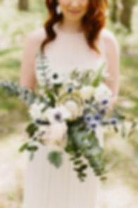 Maryladn Bride in an outdoor wedding