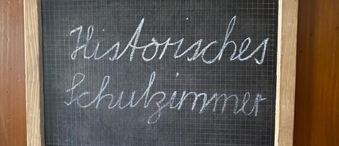 Historisches Schulzimmer