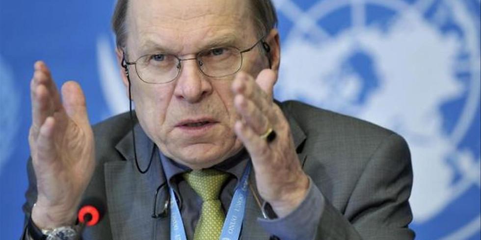 Diplomatisches Reden – Erfahrungen aus dem Friedensprozess in der Ukraine