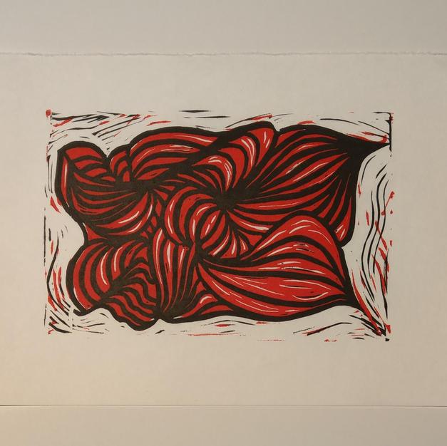 Organic Red by Carol Brockman