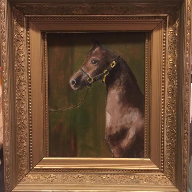 Study of a Horse by Leonard Tamburro