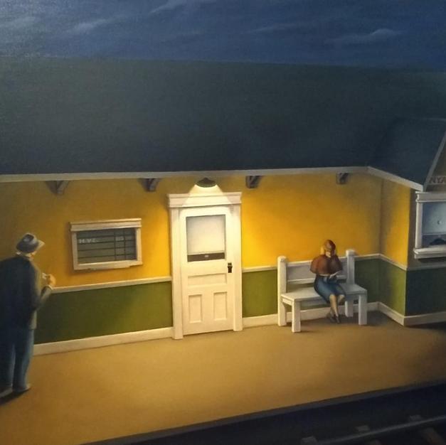 Night Travelers by Harley Davis