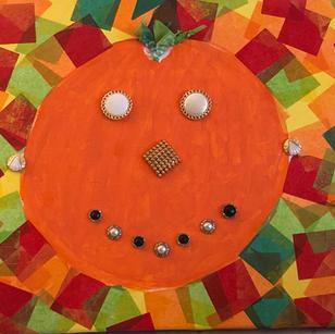 Fancy Pumpkin Girl by Mary Langer & Nora Seifert