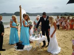 Central Coast Sand Ceremonies