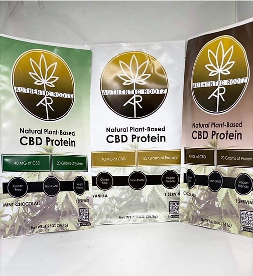 Variety Pack Authentic Rootz CBD Protein Powder