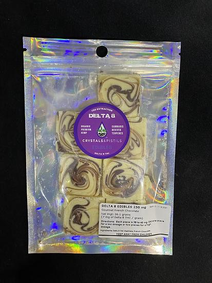 D8 THC White Chocolate (250 mg)