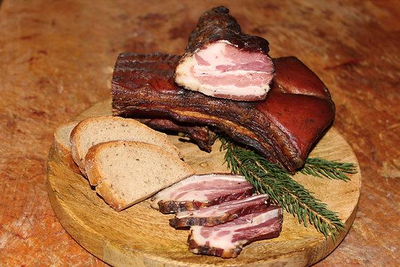 Myslivecká slanina (váha cca 500g)