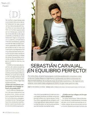 """SEBASTIAN CARVAJAL """"EN EQUILIBRIO PERFECTO"""""""