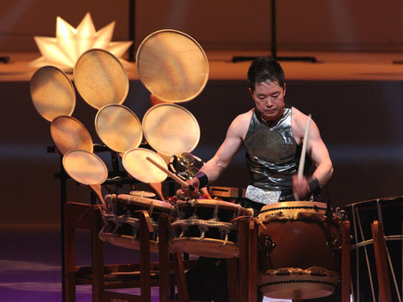 和太鼓初の「ソリスト」、林英哲がサントリーホールで個展「音楽会Ⅱ」を開催