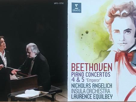 幸せな音楽に包まれるアンゲリッシュのベートーヴェン、協奏曲第4&5番